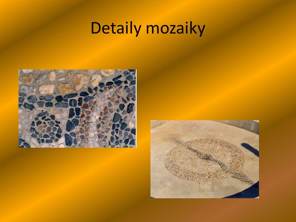 Detaily mozaiky