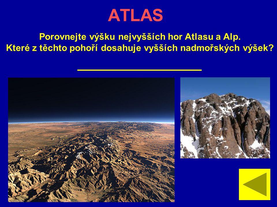 KILIMANDŽÁRO Jaká je nadmořská výška nejvyšší hory Afriky?