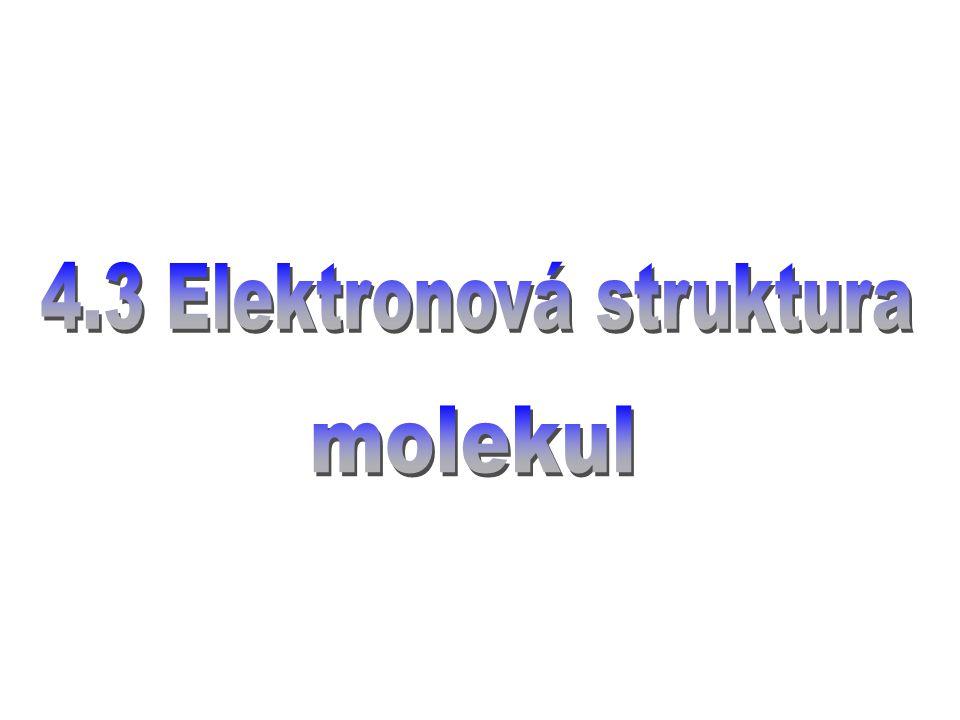těžkosti oproti atomům: není centrální symetrie (důležitá bodová grupa molekuly) elektrony a jádra, vzájemné interakce i = 1,...., N elektrony N =  Z   = 1,...., M jádra adiabatická aproximace