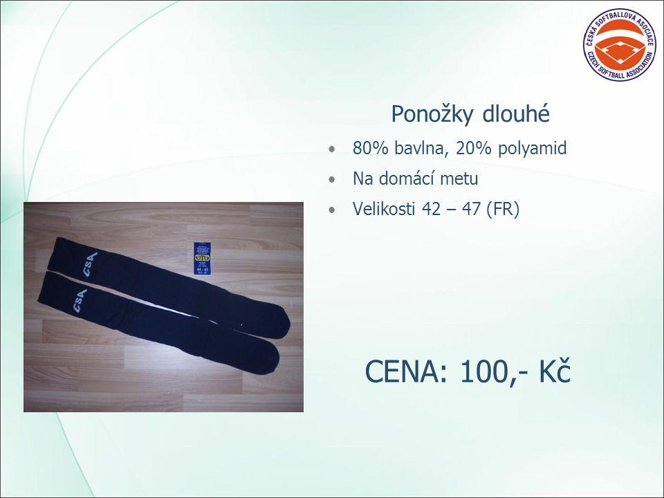 Ponožky krátké 80% bavlna, 20% polyamid Pro metového rozhodčího Velikosti 42 – 47 (FR) CENA: 75,- Kč
