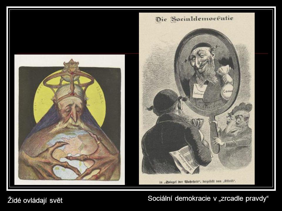 """Židé ovládají svět Sociální demokracie v """"zrcadle pravdy"""""""