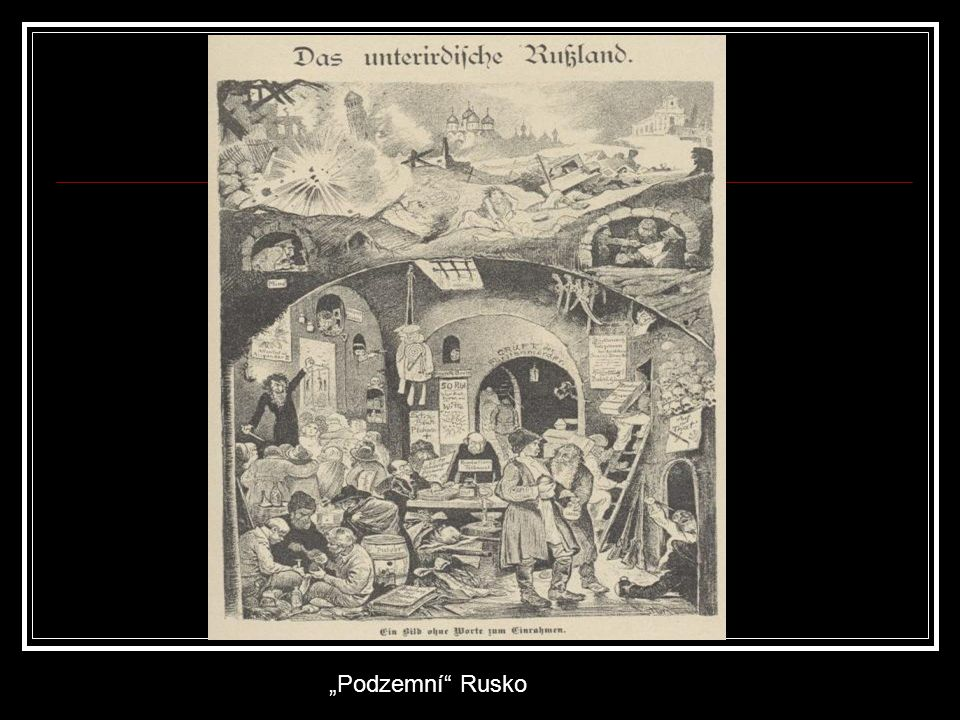 """""""Podzemní"""" Rusko"""