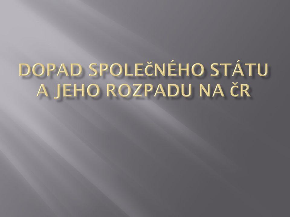  Česko se osamostatnilo 1.