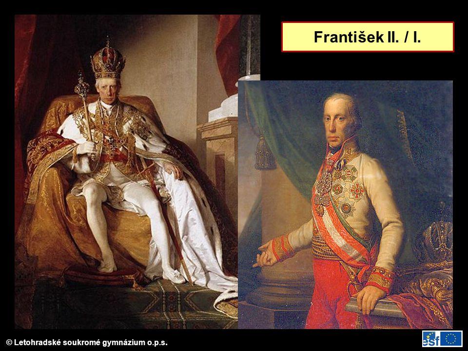 © Letohradské soukromé gymnázium o.p.s. František II. / I.