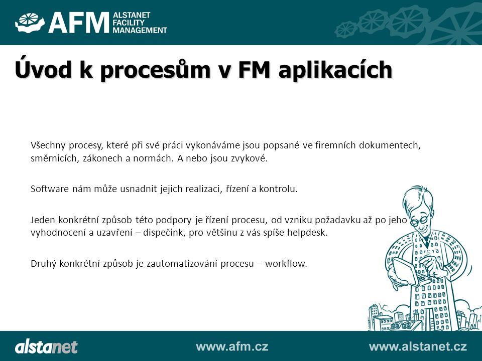 Plánovaná údržba Inventury Autopark Bezpečnost Klíčové hospodářství Investice Popište hlavní procesy pro tyto moduly.