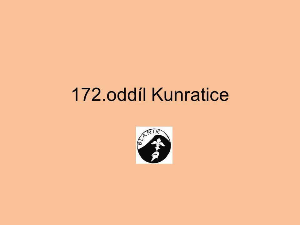 Další informace: o 172. oddílu Protěže a Kormoráni lze získat na www.kunratice.blanik.info