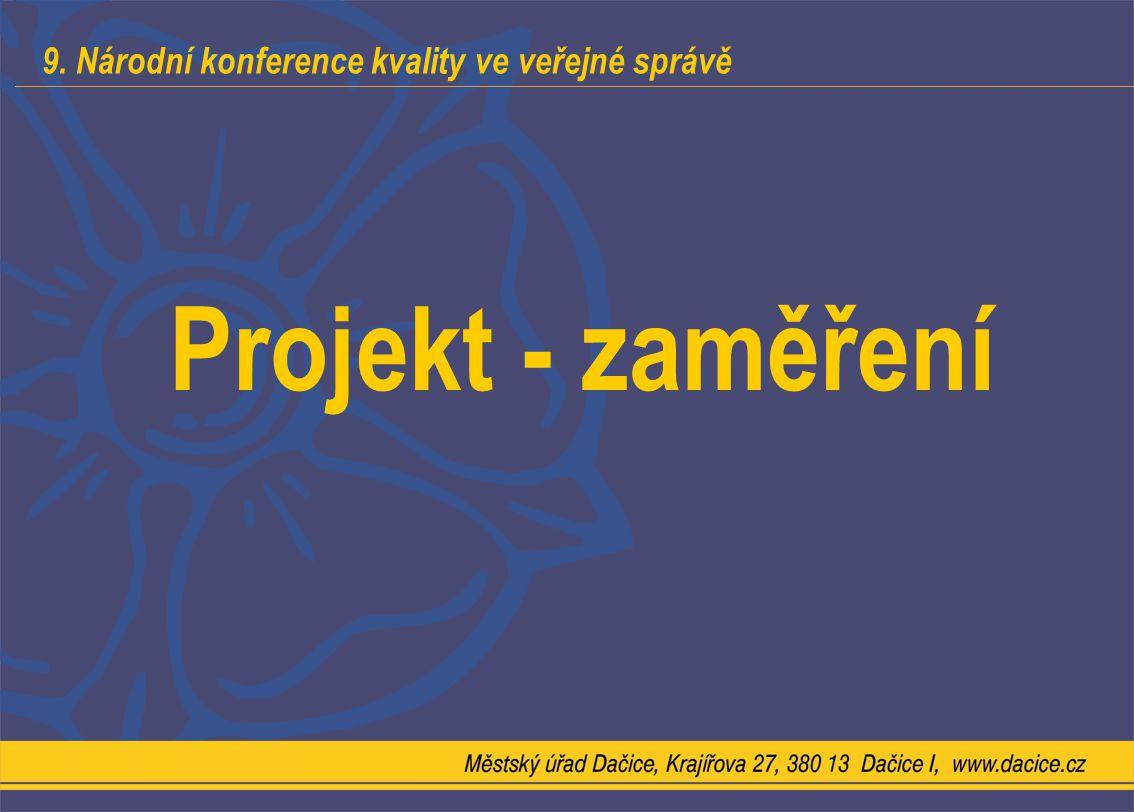 Projekt - zaměření