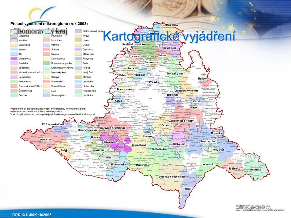 ORR KrÚ JMK 10/2005 Kartografické vyjádření