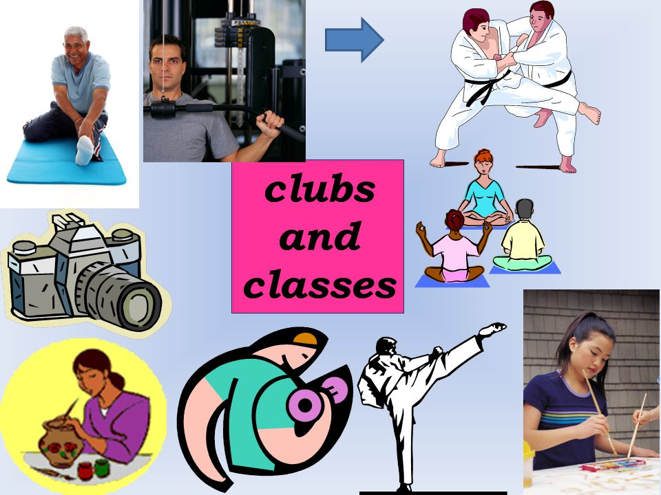 clubs and classes
