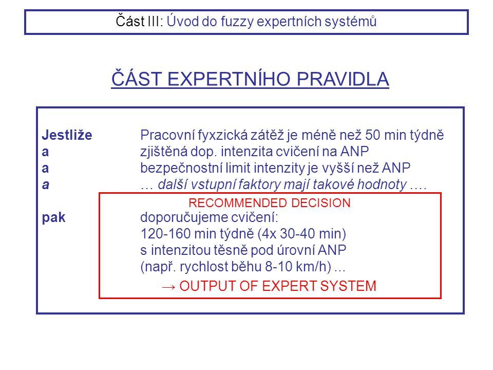 JestližePracovní fyxzická zátěž je méně než 50 min týdně azjištěná dop. intenzita cvičení na ANP abezpečnostní limit intenzity je vyšší než ANP a… dal