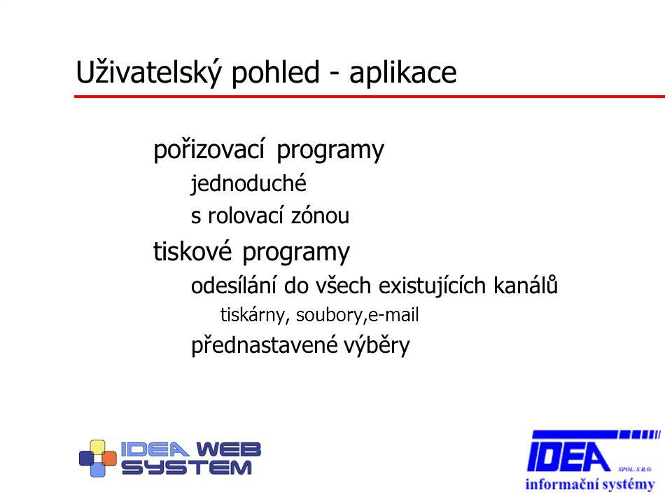 """Programátorský pohled """"jediná centrální CSP s dynamicky měněným obsahem sada knihoven komponenta - jakkoli produkované HTML [IDEA] Web komponenty – psané z ruky, dotazovací – generované z IDEA-systému – ……"""