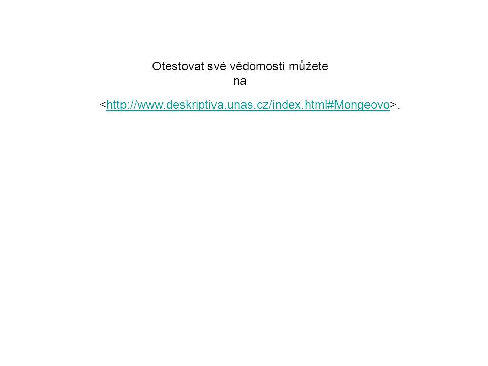 .http://www.deskriptiva.unas.cz/index.html#Mongeovo Otestovat své vědomosti můžete na