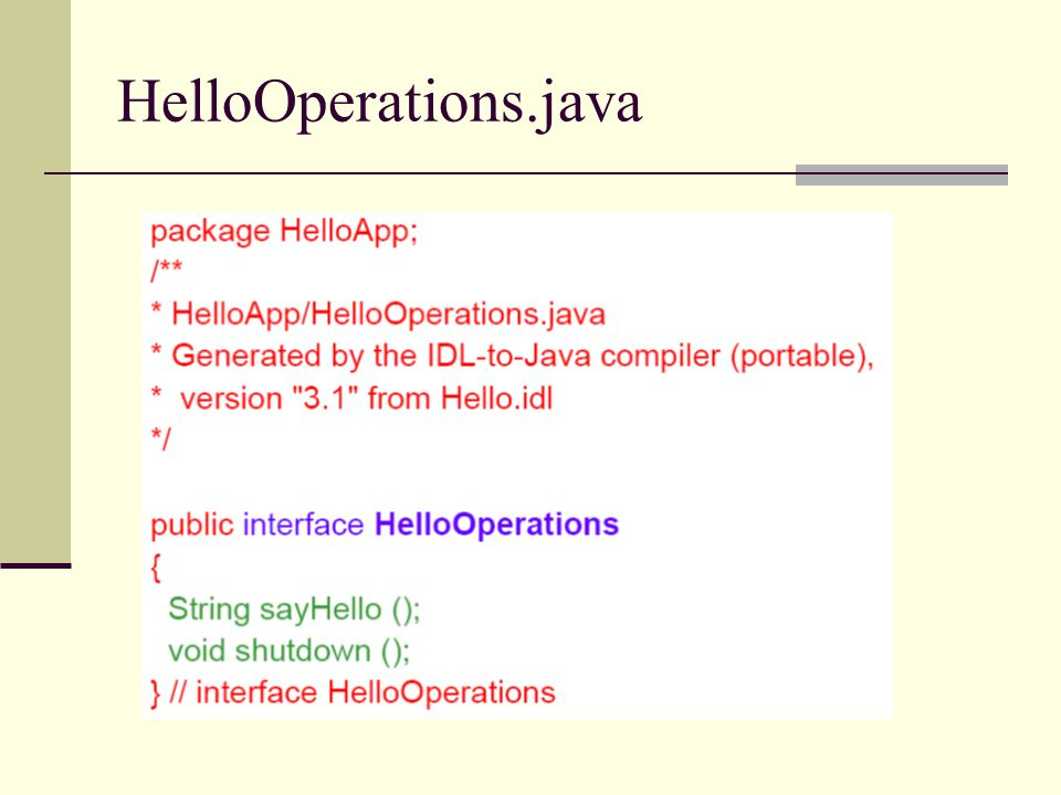 HelloOperations.java