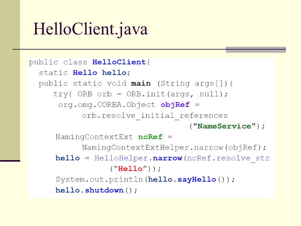 HelloClient.java