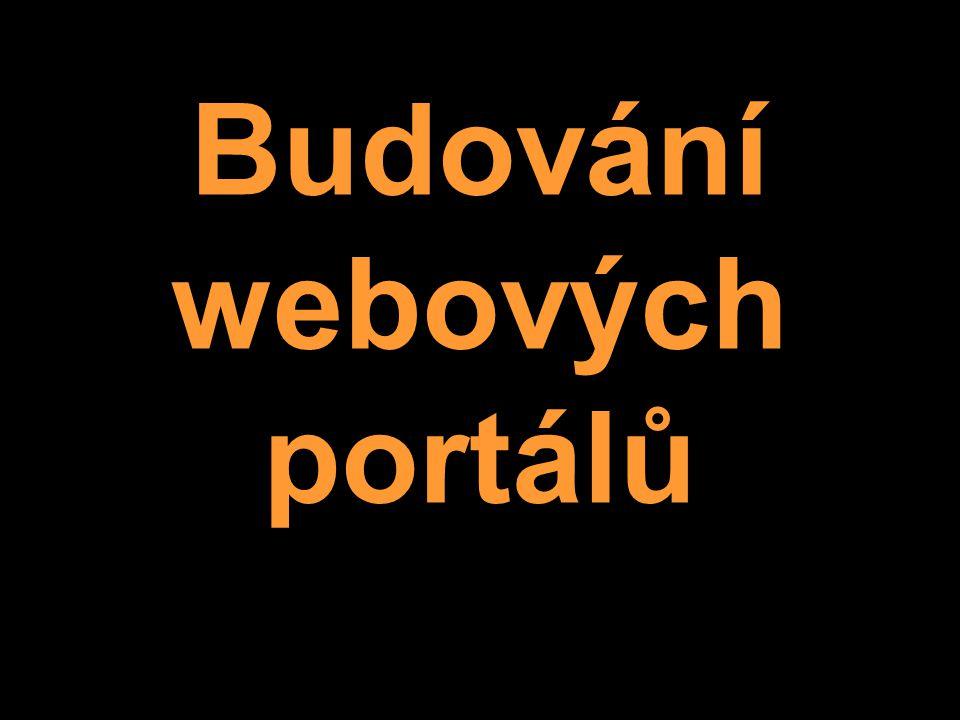 Budování webových portálů