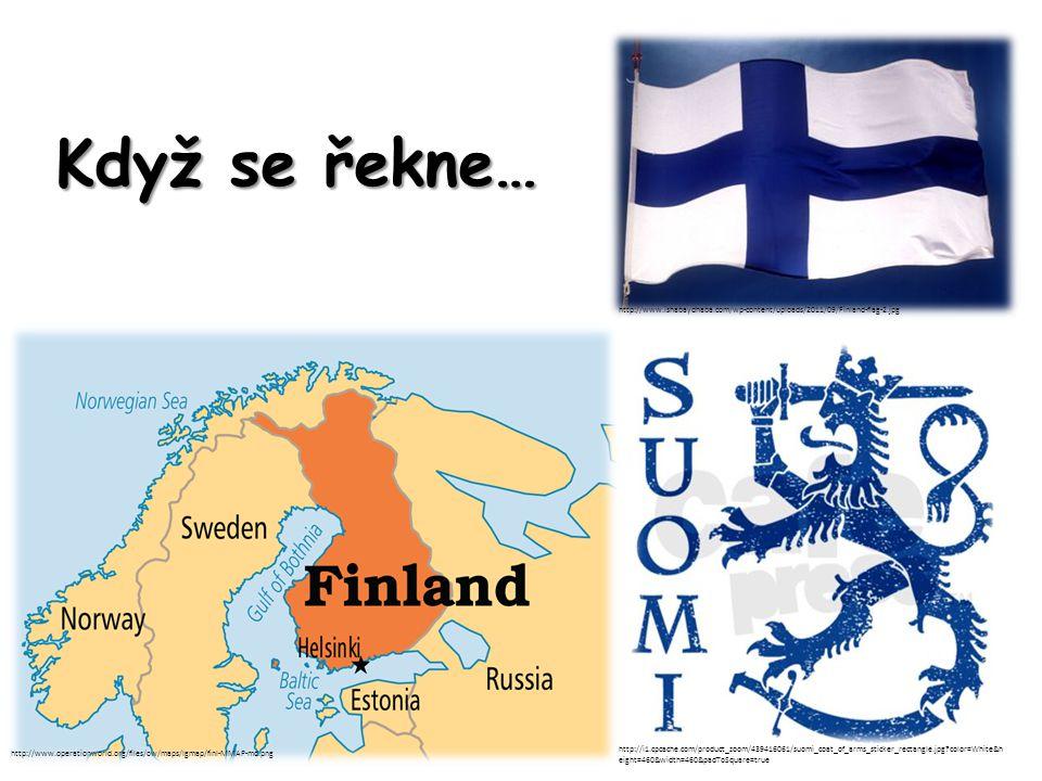 """Příroda http://www.euron.org/images/maps/finlandX.gif """"země tisíců jezer http://www.worldofstock.com/slides/ASC3752.jpg jezero Saimaa – 4."""