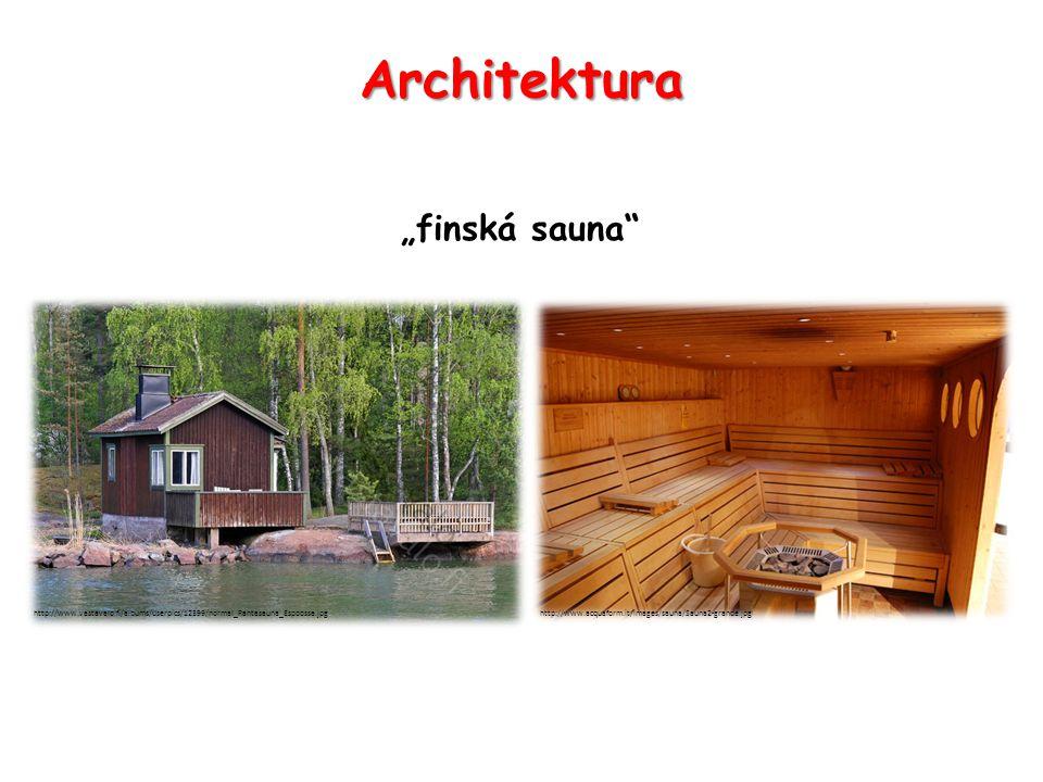 "Architektura ""finská sauna http://www.vastavalo.fi/albums/userpics/12399/normal_Rantasauna_Espoossa.jpghttp://www.acquaform.it/images/sauna/Sauna2-grande.jpg"