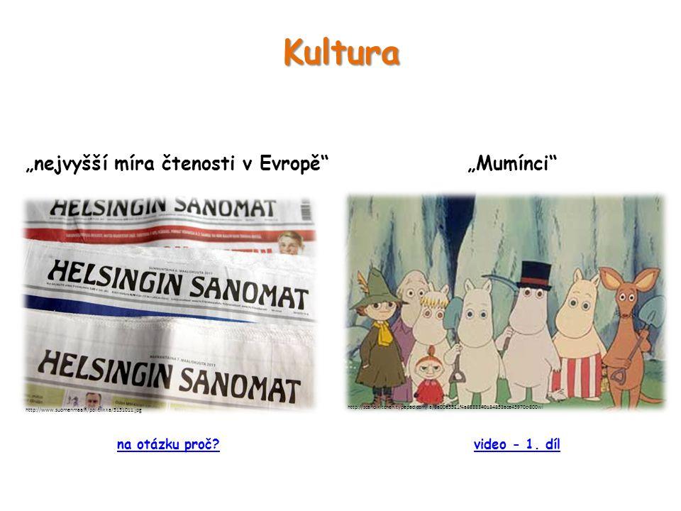 """Kultura """"nejvyšší míra čtenosti v Evropě """"Mumínci http://www.suomenmaa.fi/politiikka/5151011.jpg http://scandikitchen.typepad.com/.a/6a00e5521f4a6888340134853ace45970c-800wi video - 1."""
