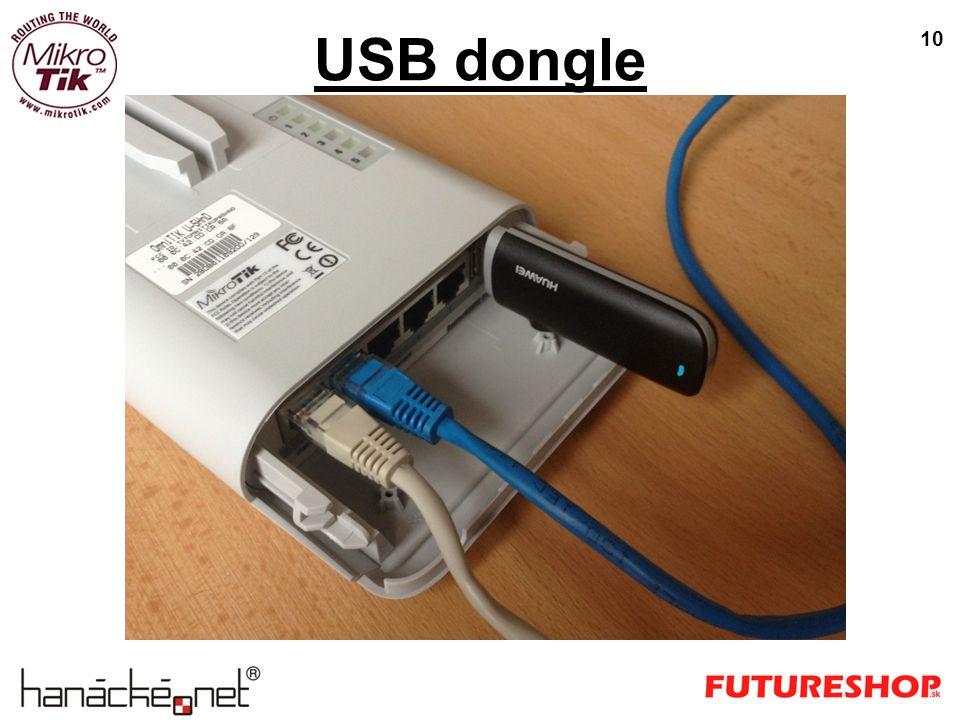 USB dongle 10