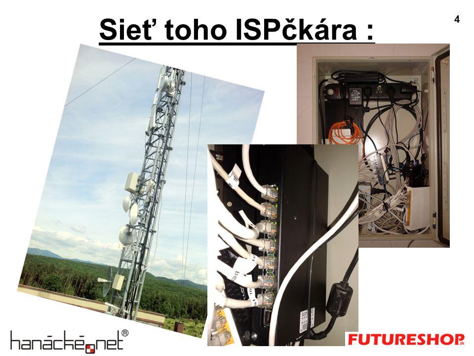 Sieť toho ISPčkára : 4