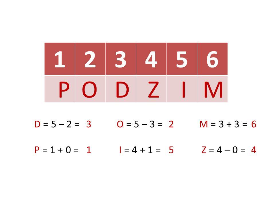 1234 T = 4 – 1 =É = 1 + 1 = L = 5 – 4 =O = 2 + 2 = 3232 1414 LÉ T O