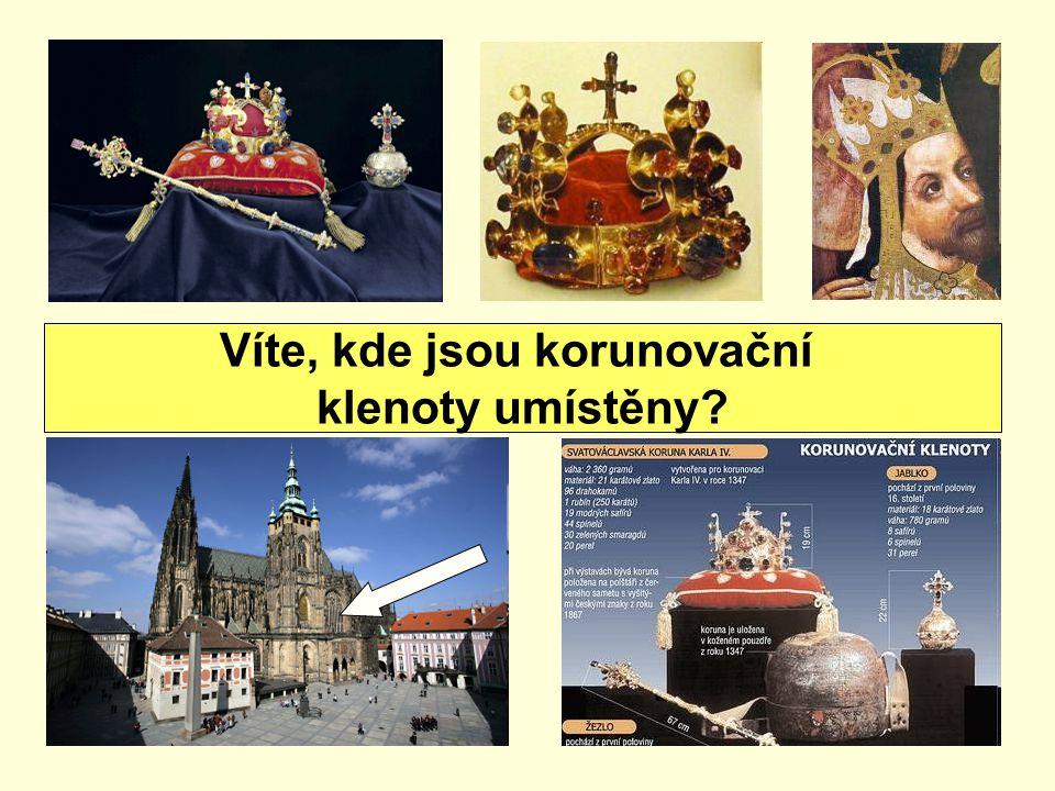 Víte, kde jsou korunovační klenoty umístěny?