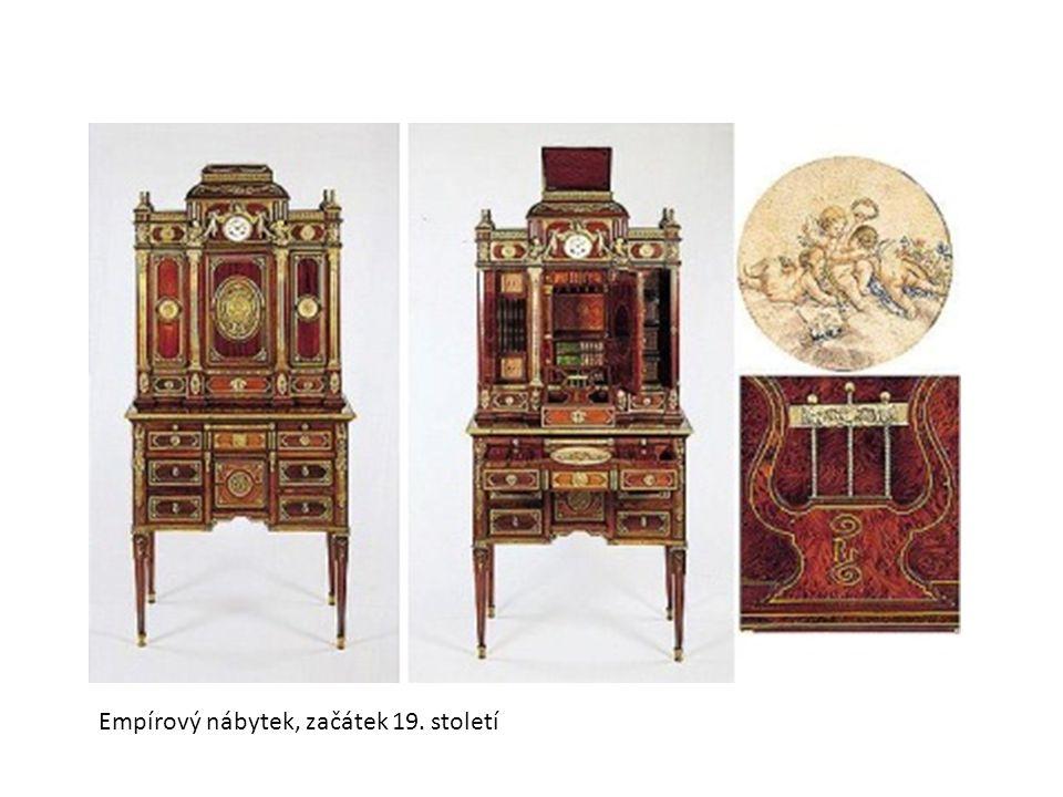 Empírový nábytek, začátek 19. století