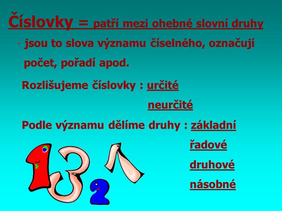 Použitá literatura : V. Styblík a kol. : Český jazyk pro 6. ročník ZŠ