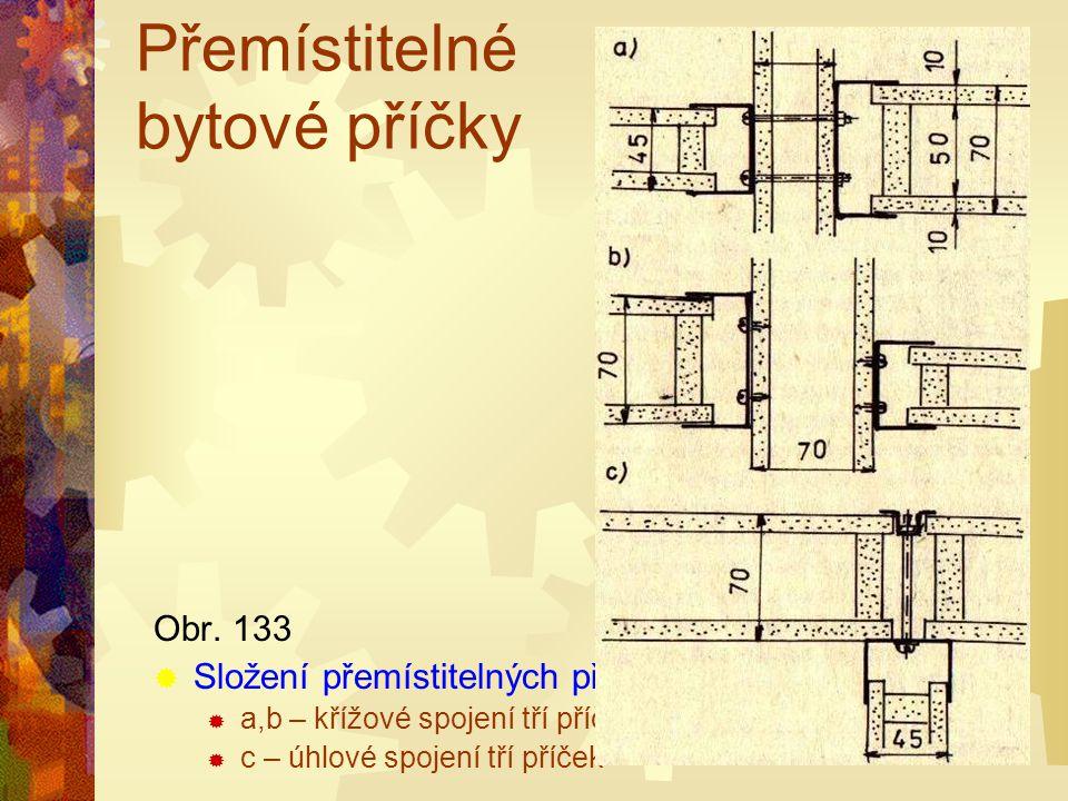 Přemístitelné bytové příčky PPříčky se montují přímo na stavbě do předem připravených U profilů připevněných nastřelovacími hřebíky do panelů stavby