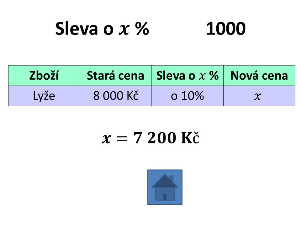 ZbožíStará cenaNová cena Lyže8 000 Kčo 10%