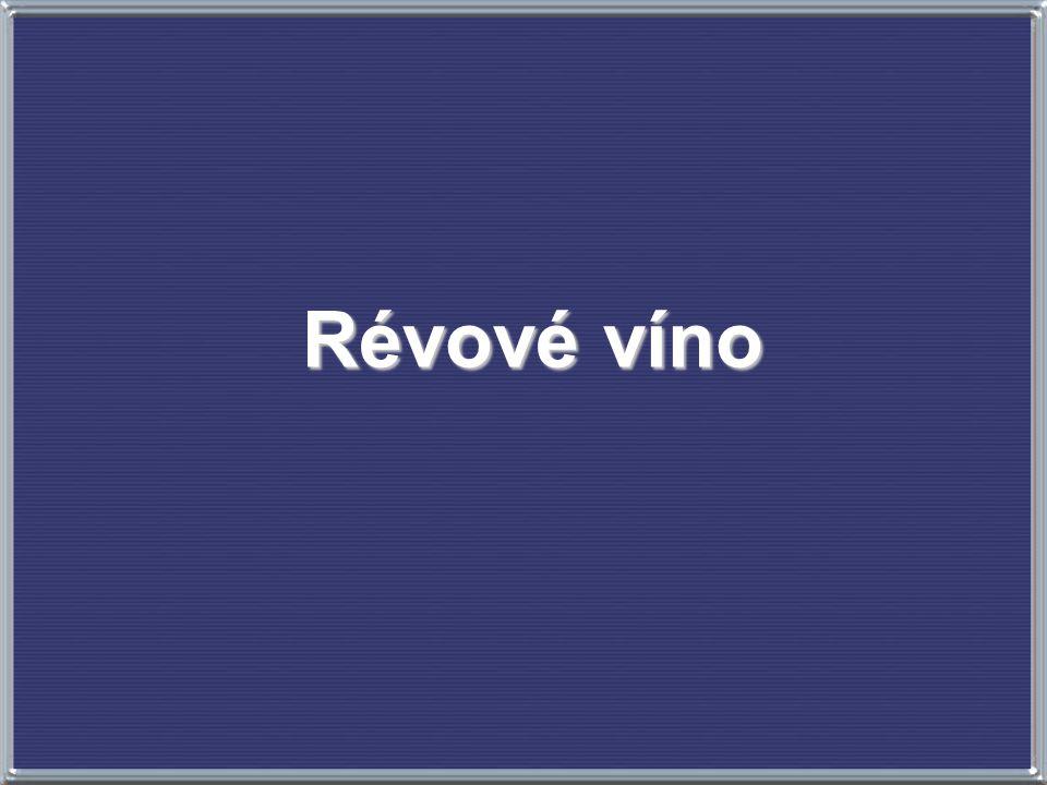 Révové víno