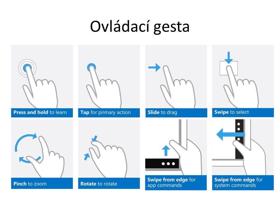 Ovládací gesta