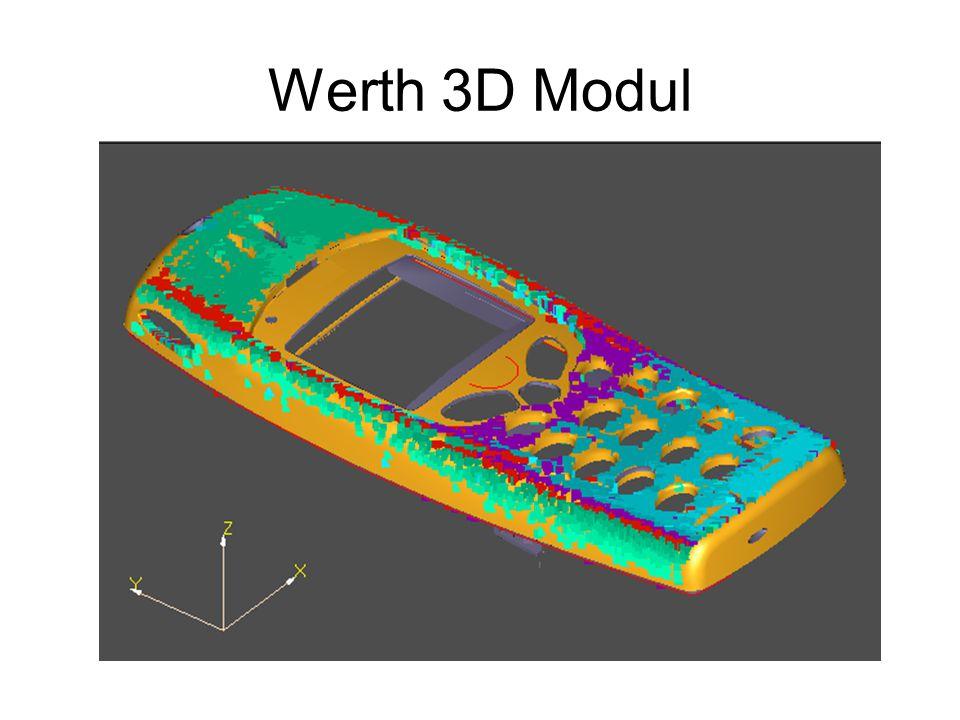 Werth 3D Modul