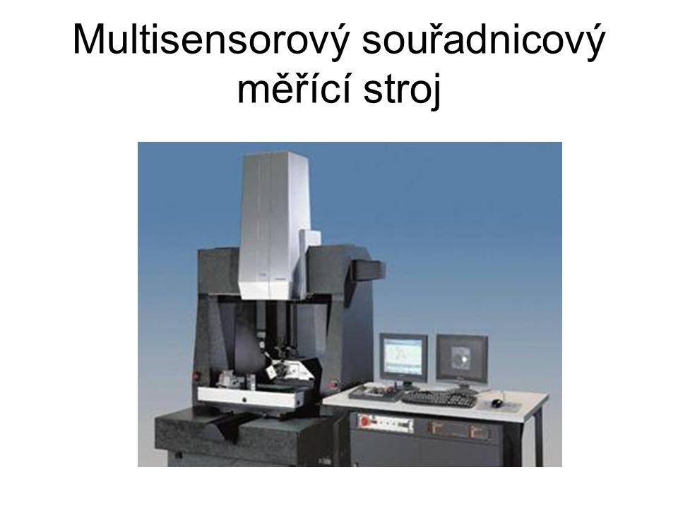 Multisensorový souřadnicový měřící stroj