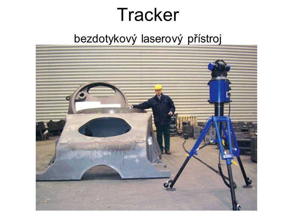 Tracker bezdotykový laserový přístroj