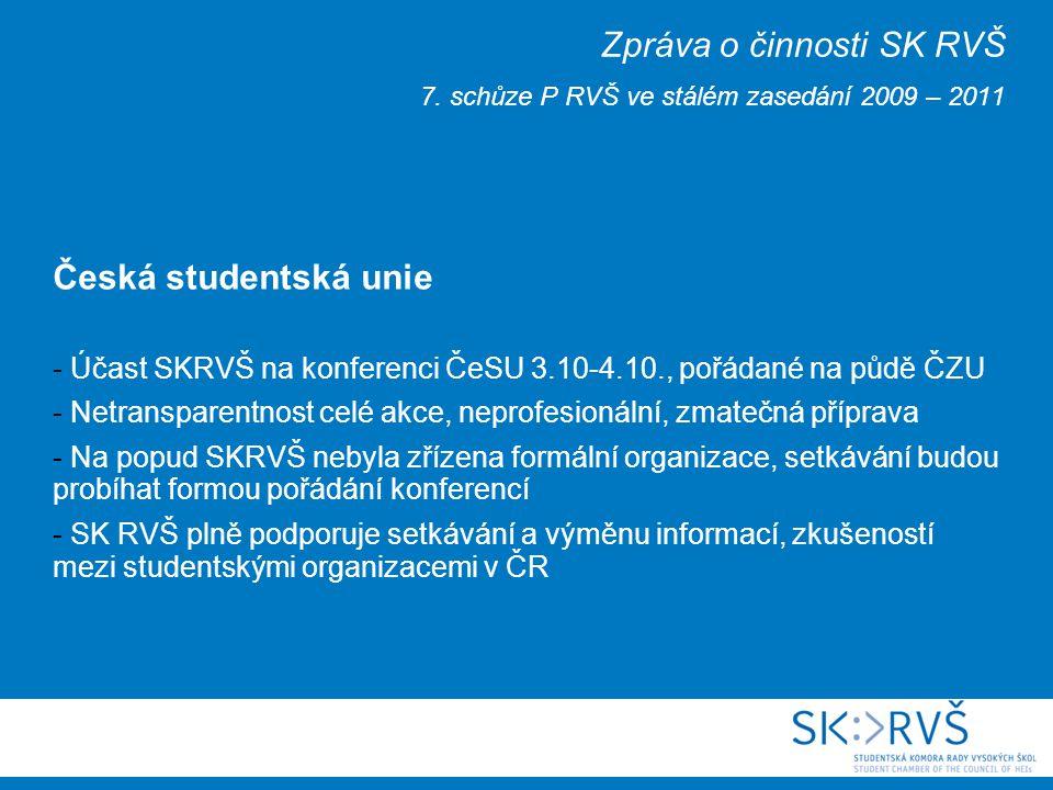 Kancelář SK RVŠ na ČVUT - slavnostně otevřena 9.10.2009 - Zúčastnili se např.