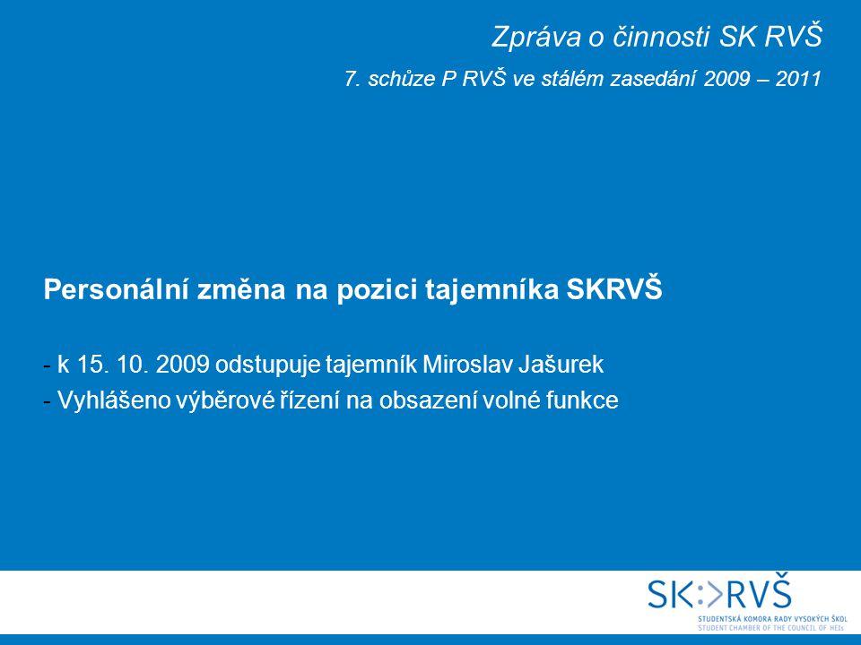 Volby předsedy a místopředsedy SKRVŠ - Volby proběhnou 15.