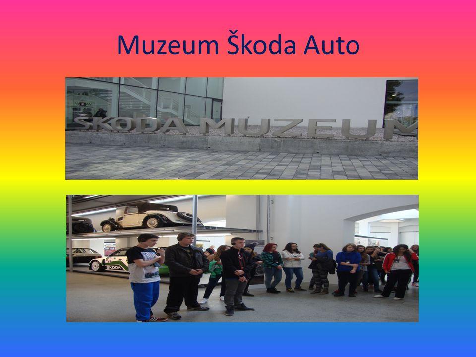 V muzeu jsme zjistili, kdo byli zakladatelé této známé firmy a prošli jsme celou její historií