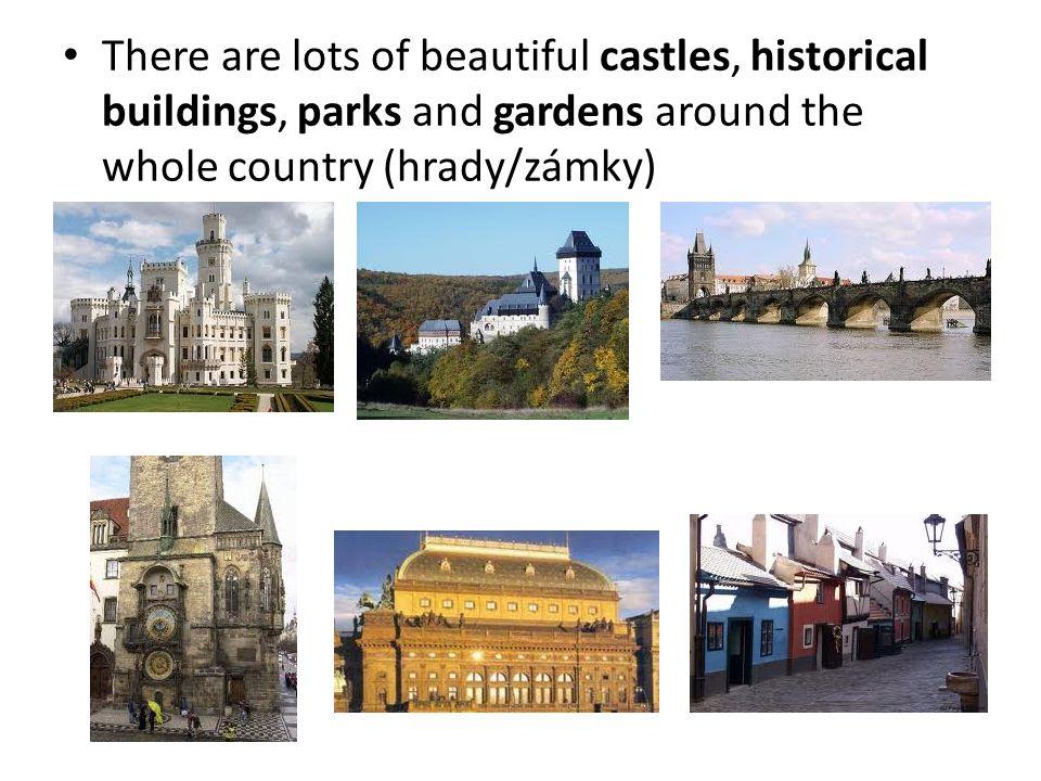 Capital city (hlavní město) – Prague is called the City of one hundred spires (nazývána městem stovek štíhlých věží) Official language (úřední jazyk) – Czech Currency (měna) – czech crown (česká koruna) National meal (národní jídlo) – roast pork, dumplings, sweet and sour cabbage ( knedlo- vepřo-zelo)