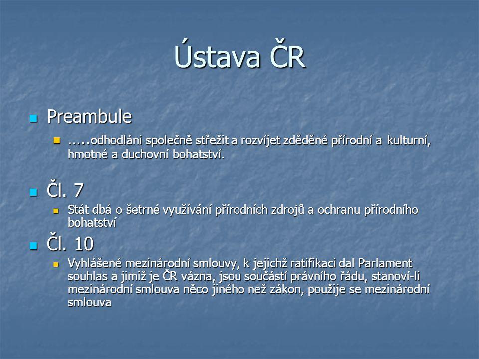 Ústava ČR Preambule Preambule …..