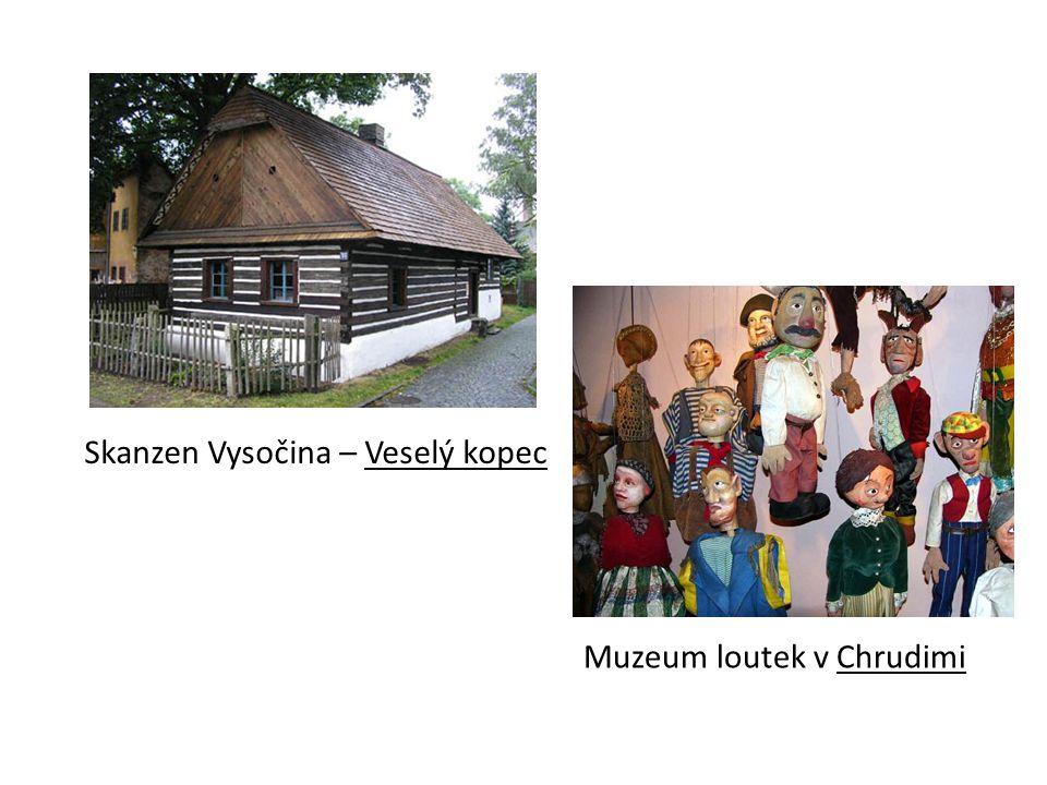 Skanzen Vysočina – Veselý kopec Muzeum loutek v Chrudimi