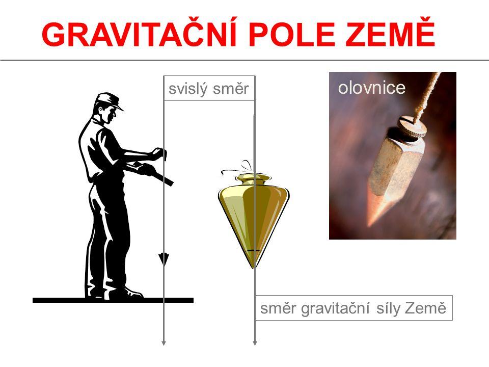 GRAVITAČNÍ POLE ZEMĚ vodováha Vodováha nebo také libela (z franc.) je jednoduchý přístroj, sloužící k určování vodorovného (a odvozeně i svislého) směru.