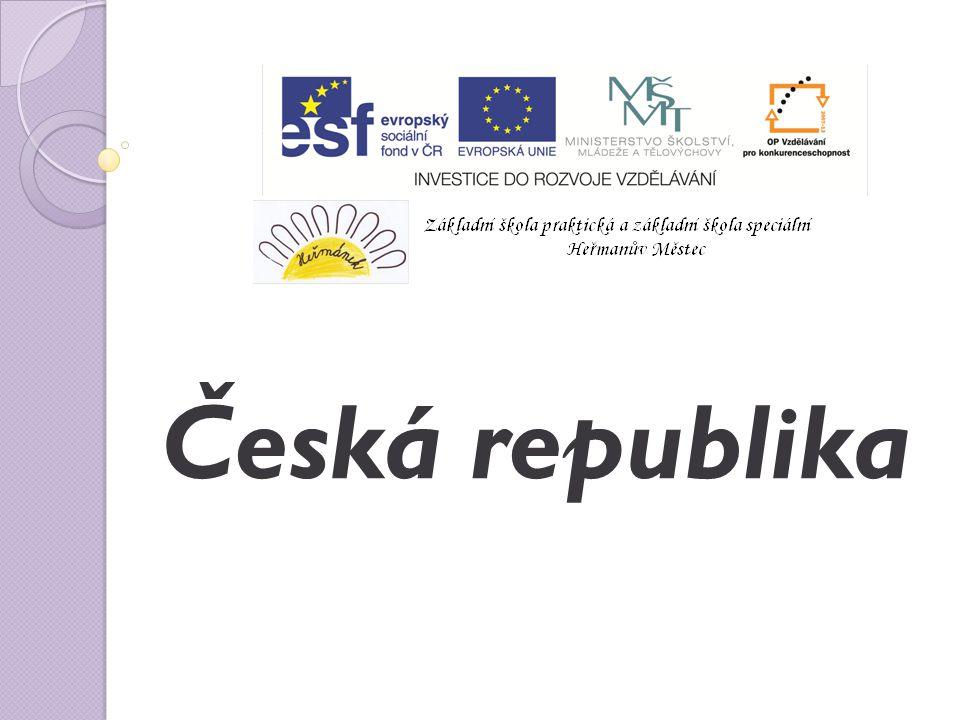 Já a můj svět ICT2_1/32 Anotace: Žák si osvojí základní informace o české republice, sousedních státech ČR.