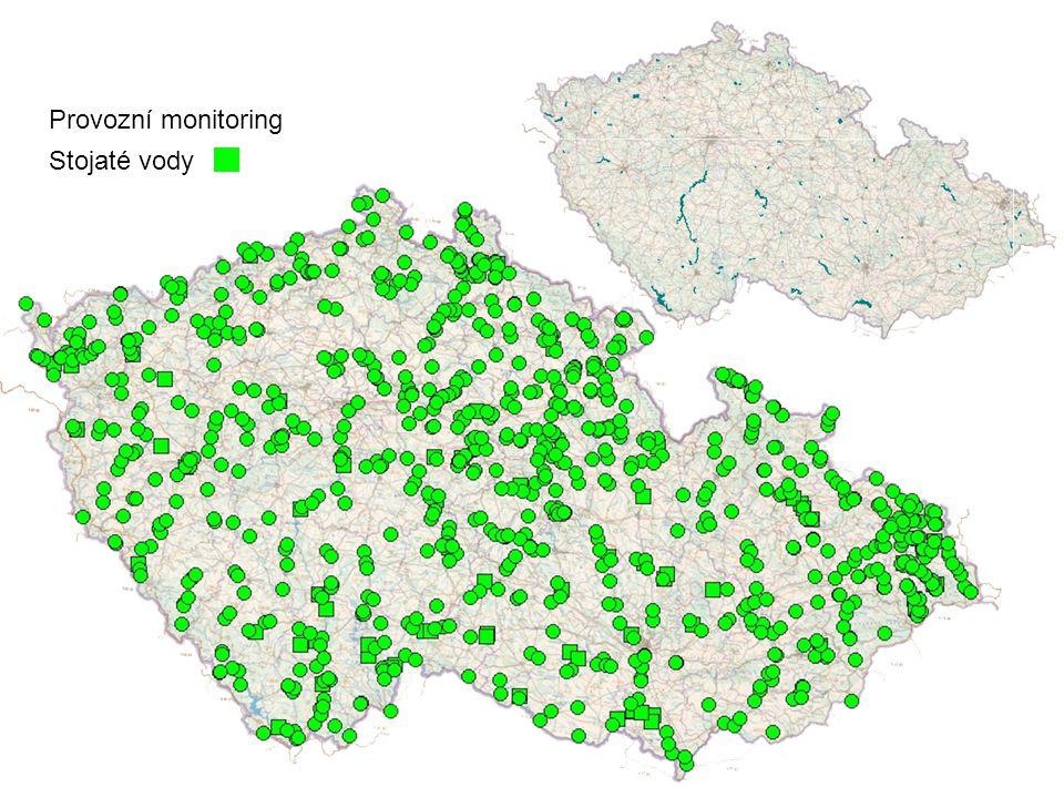 Provozní monitoring Stojaté vody