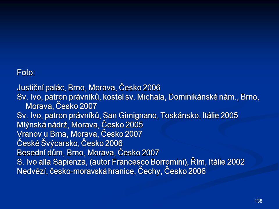 138 Foto: Justiční palác, Brno, Morava, Česko 2006 Sv.