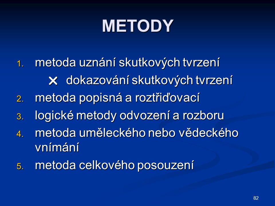 82 METODY 1.