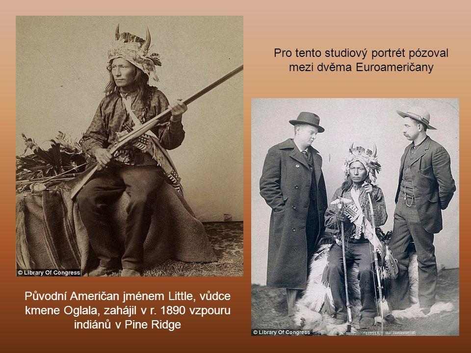 Divoký bizon (americký zubr) Mezi léty 1887 a 1892 Grabill vyhotovil 188 fotografií za použití nové techniky (albumin nebo vaječný bílek vázaly chemikálie dohromady).