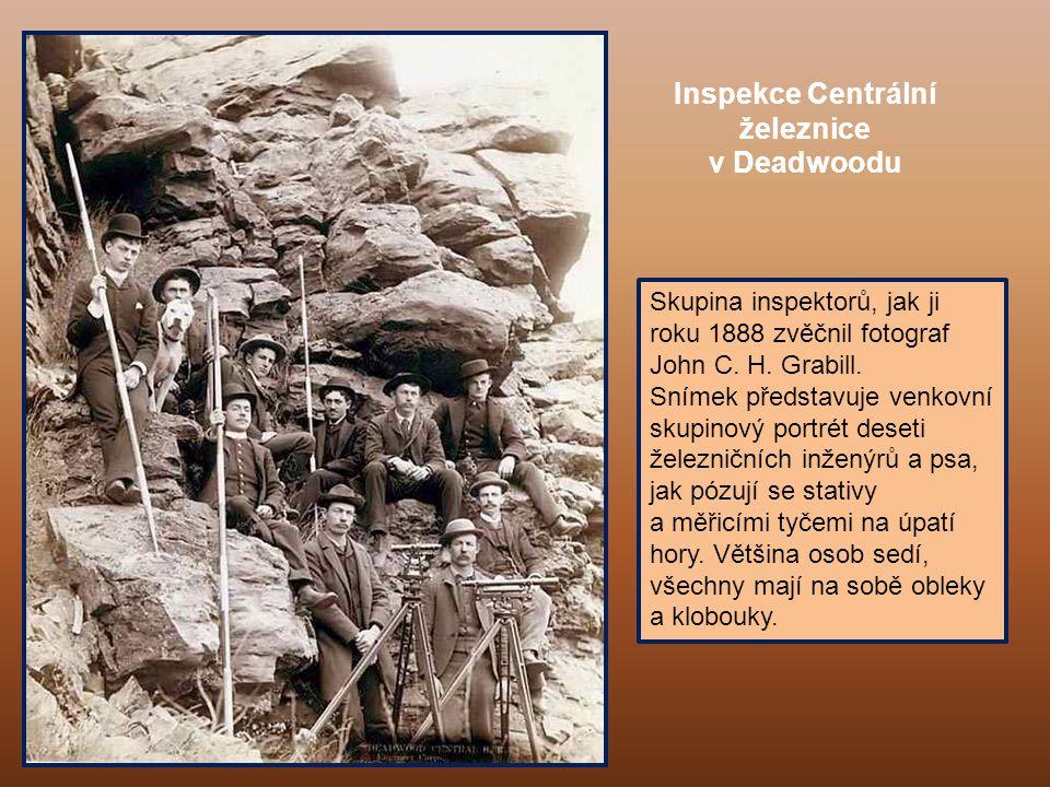 Lov jelena v Deadwoodu (zima 1887/88)