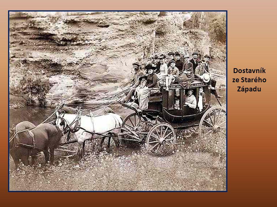 Horníci při rýžování zlata na území Dakoty