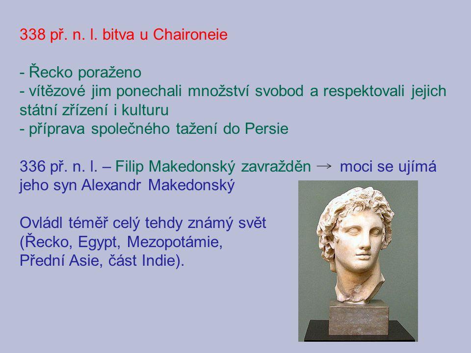Alexandr a Bukefalos Učitel Aristoteles Setkání s Diogenem Knihovna v Alexandrii Alexandr jako Hór